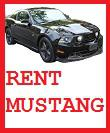 Rent Ford Mustang GT 300HP